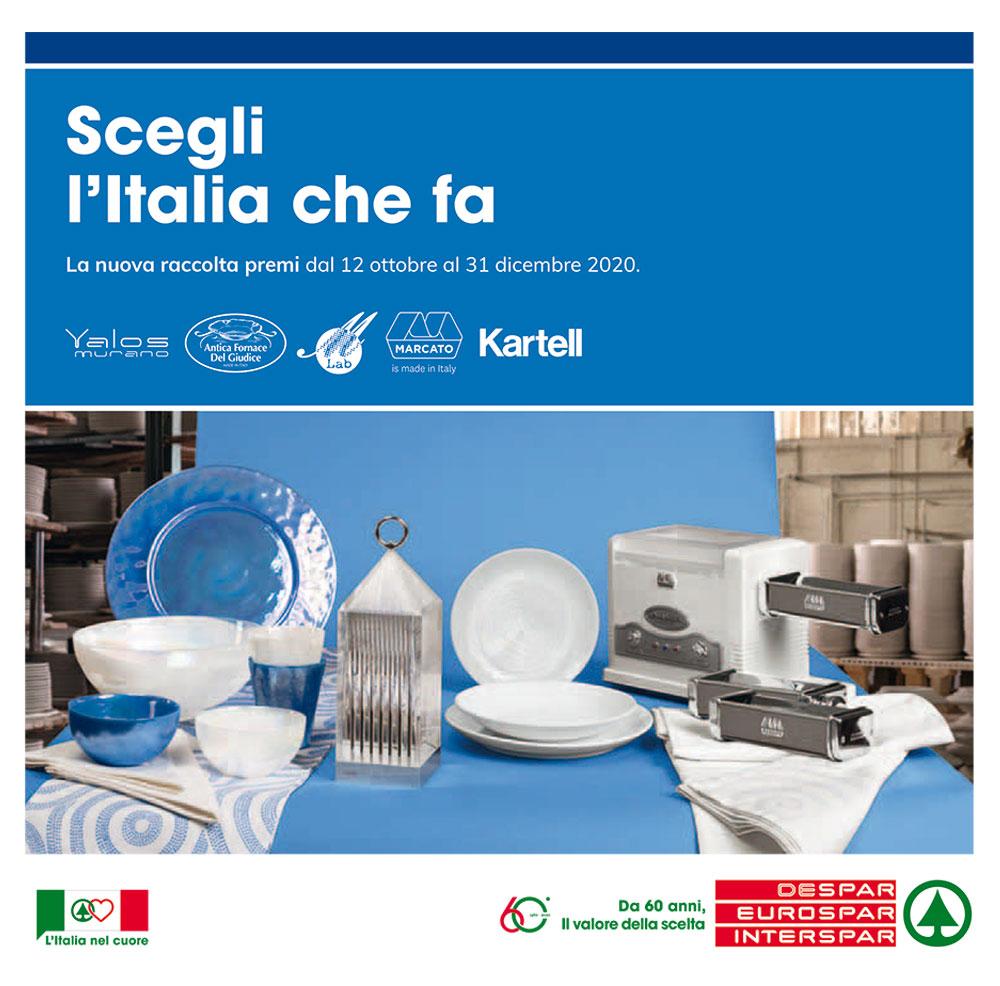 Raccolta premi Eurospar - Scegli l'Italia che fa - Valida dal 12 ottobre al 31 dicembre 2020