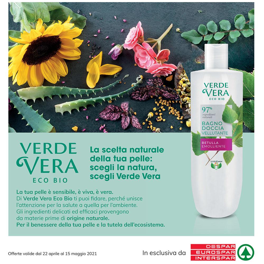Promozione Eurospar - Verde Vera Eco Bio - Valida dal 22 aprile al 15 maggio 2021