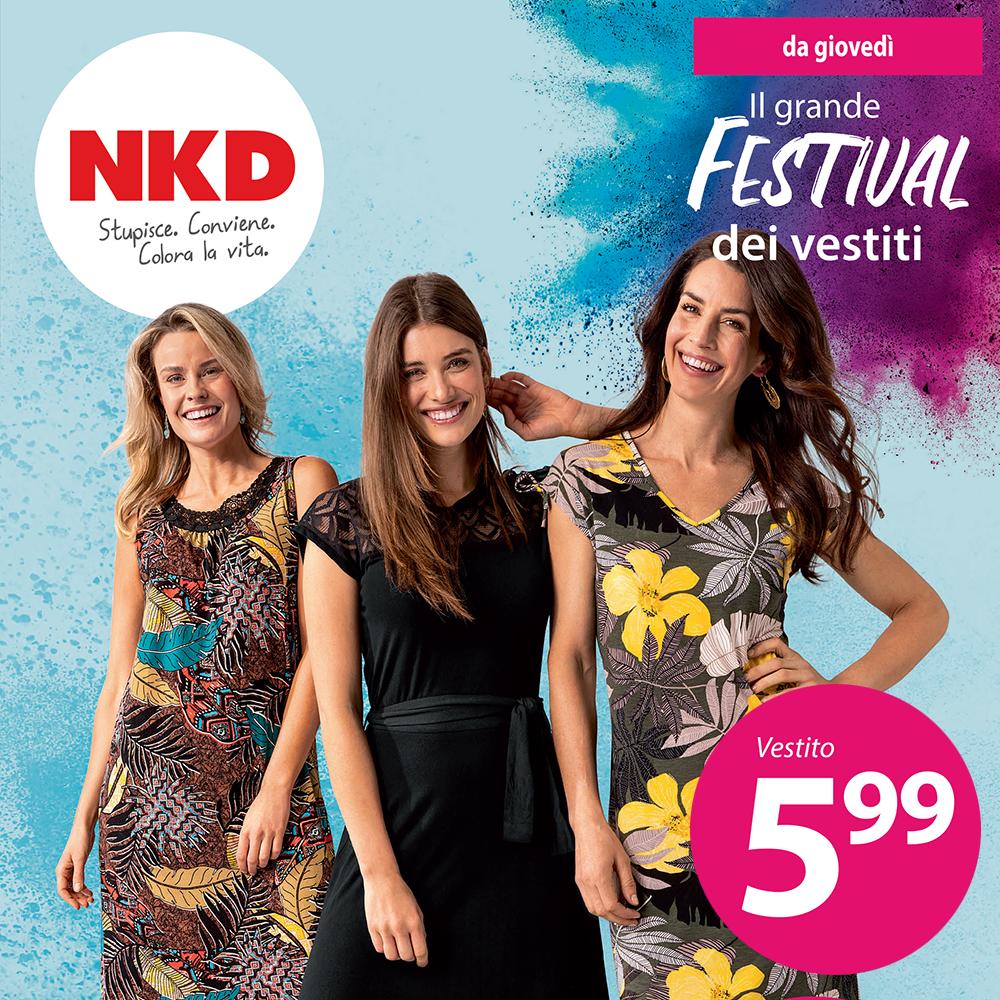 Offerta NKD - l grande Festival dei vestiti - Dal 5 maggio 2021